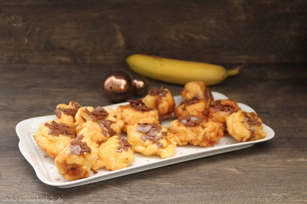 gebackene Banane Rezept schnell für Kinder (1)