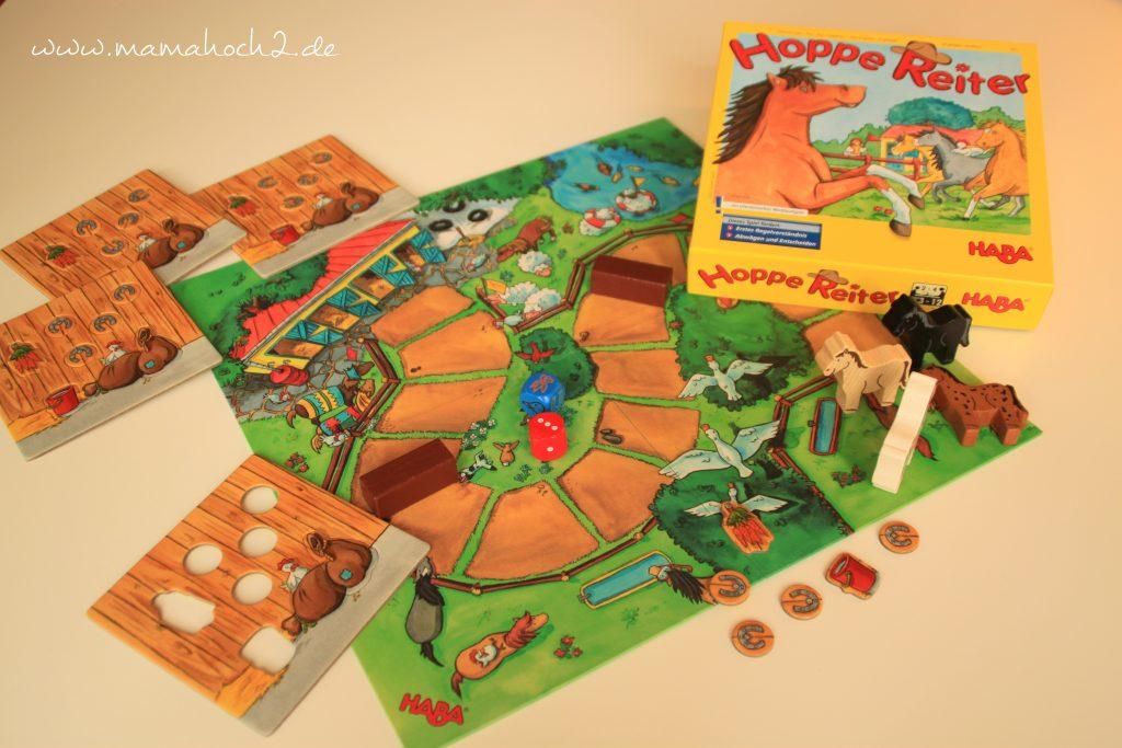 Hoppe Reiter Kinderspiel Brettspiel