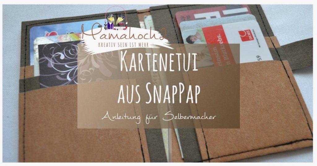 SnapPap – Nähen aus SnapPap . Kartenetui . Etui 17