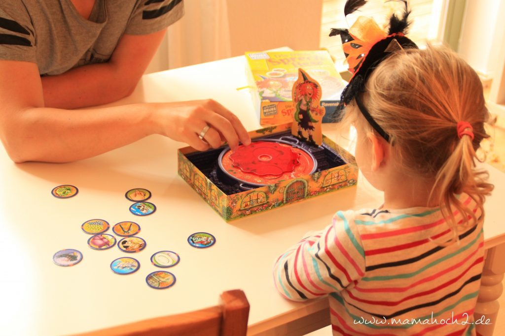 Sprechhexe Spiel Kinder