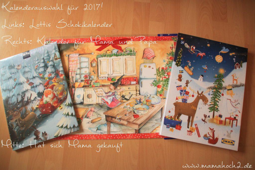Adventskalender 2017 Auswahl Ikea Schoki Bilderkalender