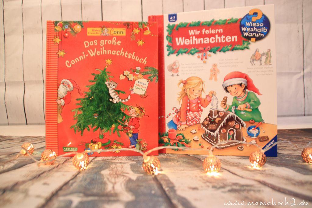 Büchertipps Kinderbücher Weihnachten Conni Weihnachtsbuch Klappenbuch Wieso Weshalb Warum