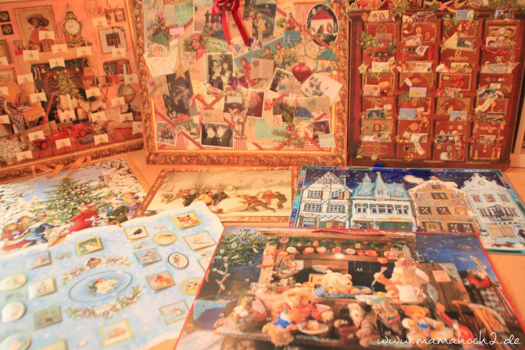 Foto Kalender Adventskalender Sammlung