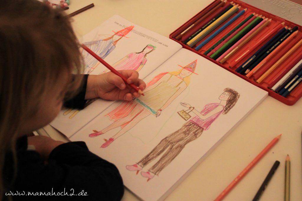 Mitmachbuch Mädchen und Mode 3