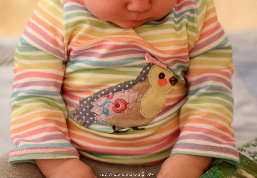 applizieren sprühkleber nähen lernen applikation freebie nähanleitung nähen für babys 2