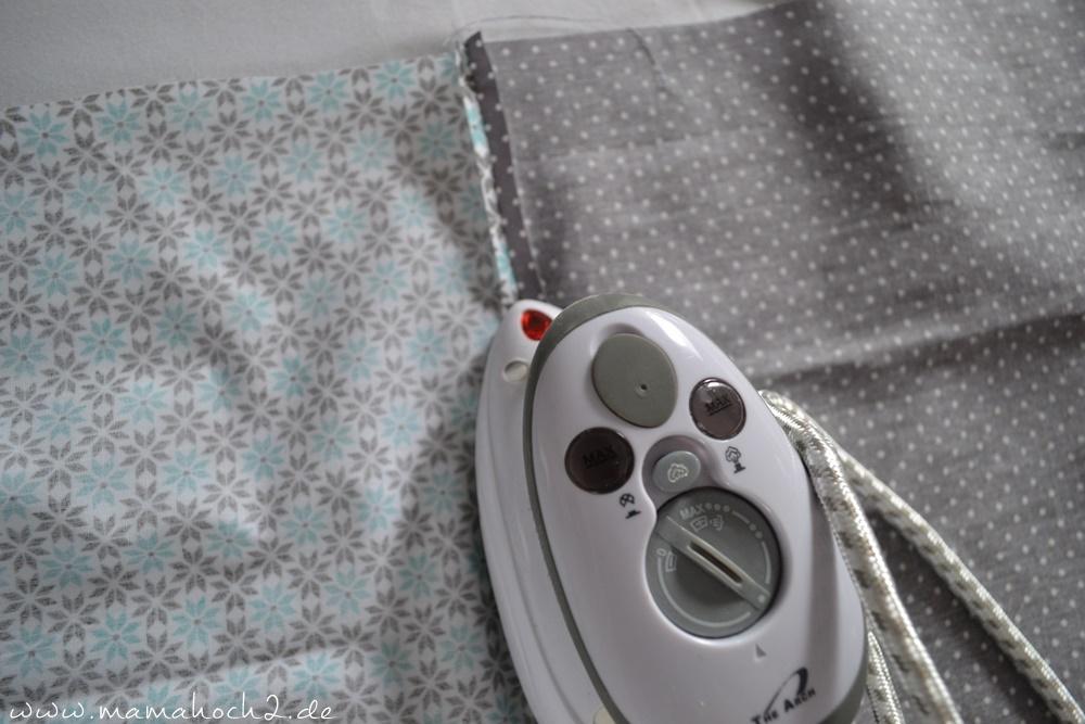 Bettschlange . Bettschlange selber nähen . Kopfschutz für Babys (11)