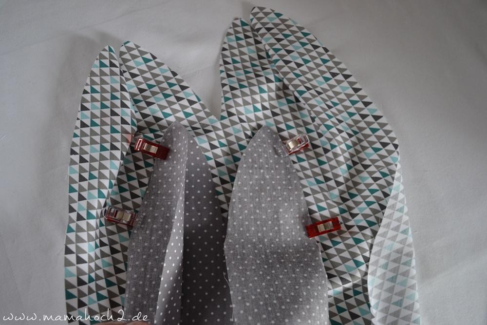 Bettschlange . Bettschlange selber nähen . Kopfschutz für Babys (8)