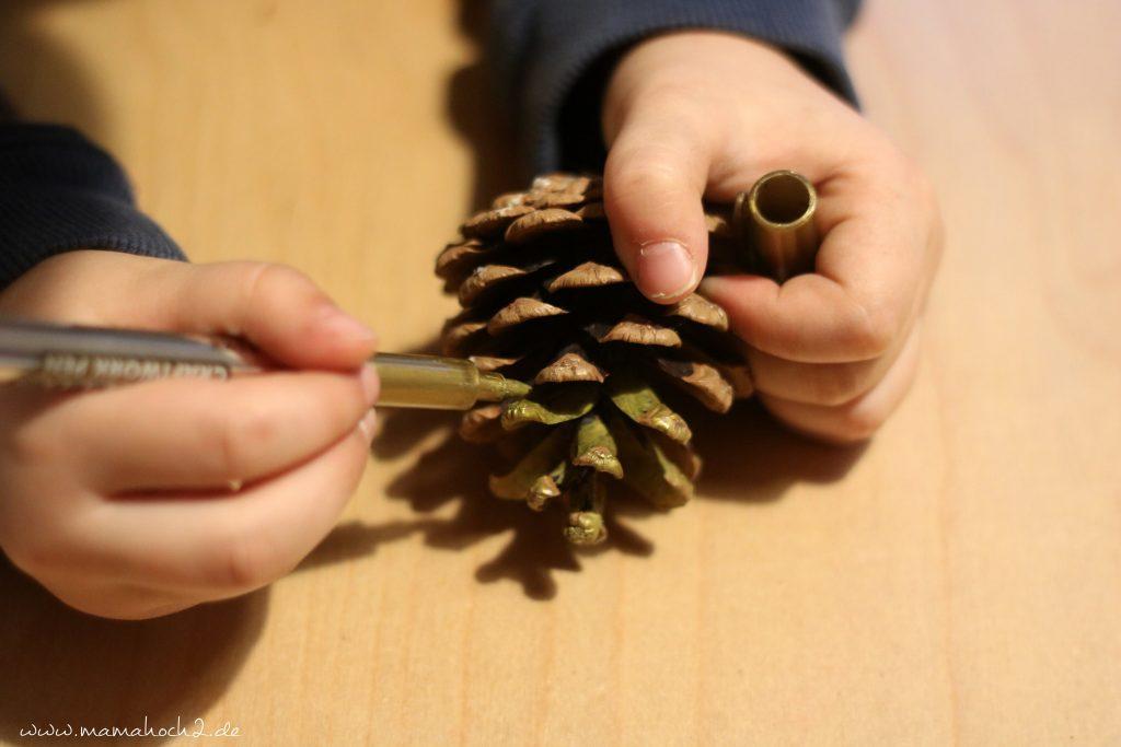 diy blog kinder basteln zapfen weihnachten (15)