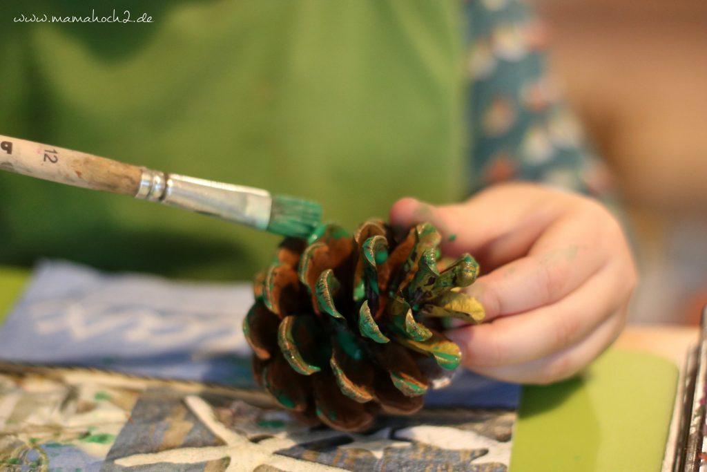 diy blog kinder basteln zapfen weihnachten (5)