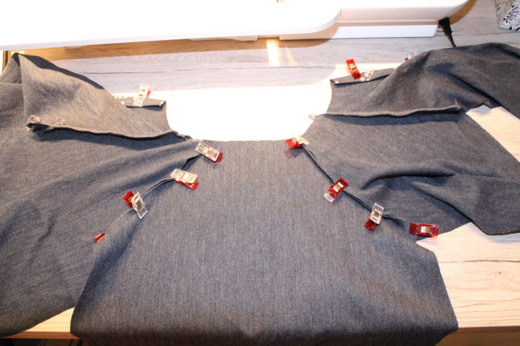 Nähanleitung für einen Overall: Schlafanzug Einteiler mit ...