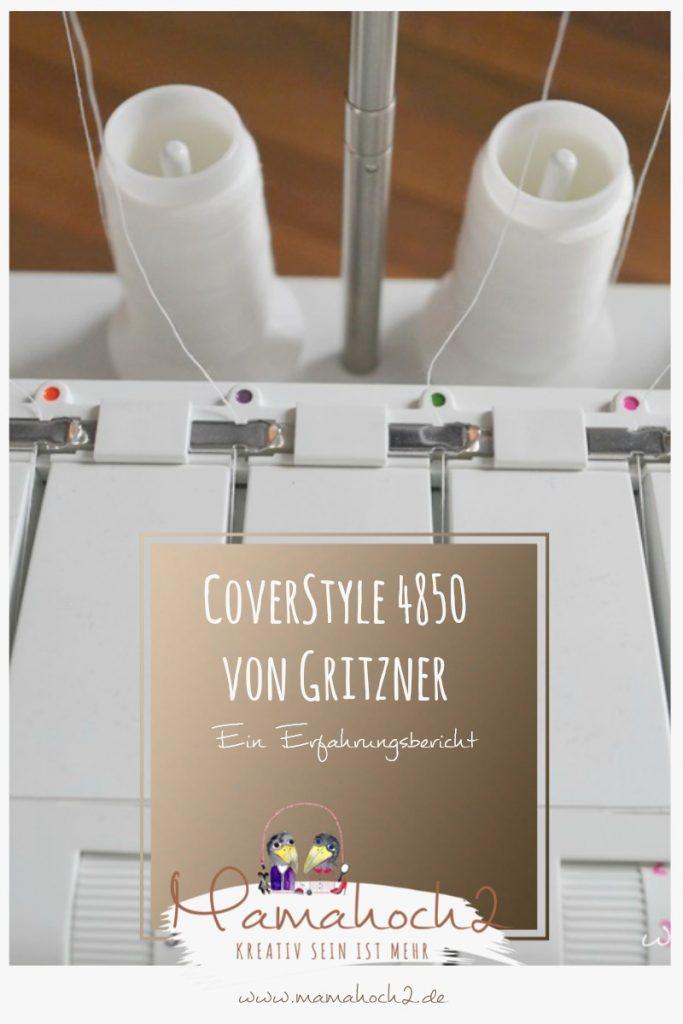 Gritzner . Gritzner Coverlock . Gritzner Coverlock 4850 . Coverlock Erfahrungsbericht . Maschinentest . Nähmaschinentest 26