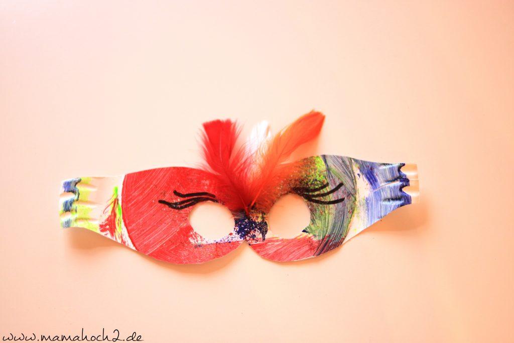 Masken basteln 11