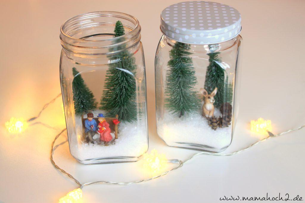 Winterwelt im Glas Bsp 1