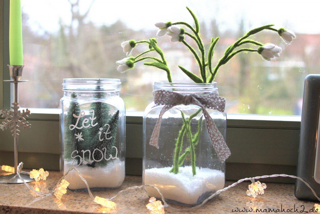 Winterwelt im Glas Bsp 5
