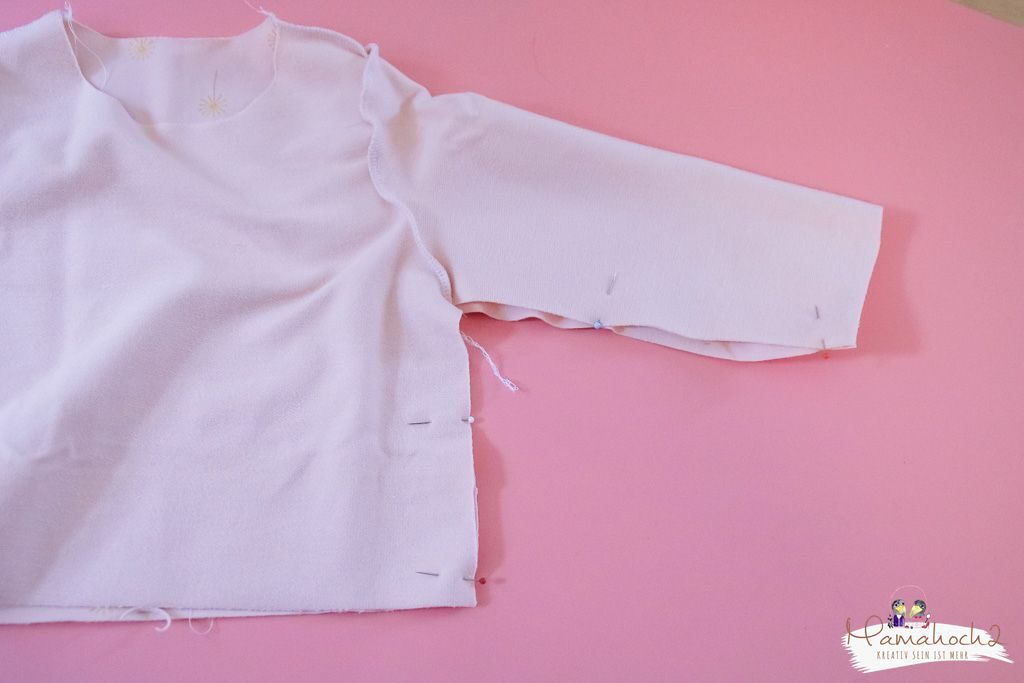 Nähanleitung: So nähst du dir aus einem Oberteil ein Kleid ⋆ Mamahoch2
