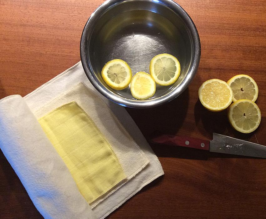 wickel selber machen zitronenwasser