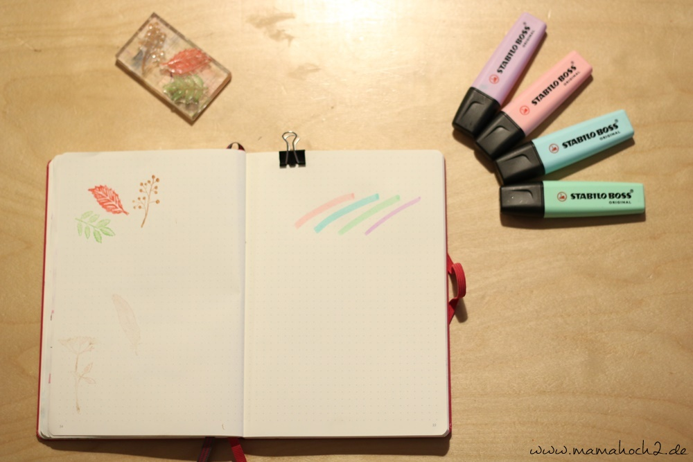 Bullet Journal . Bullet Journal Ideen . Bullet Journal Materialien . Bulett Journal Kalender . Kalender selber machen . kreative Kalender (17)