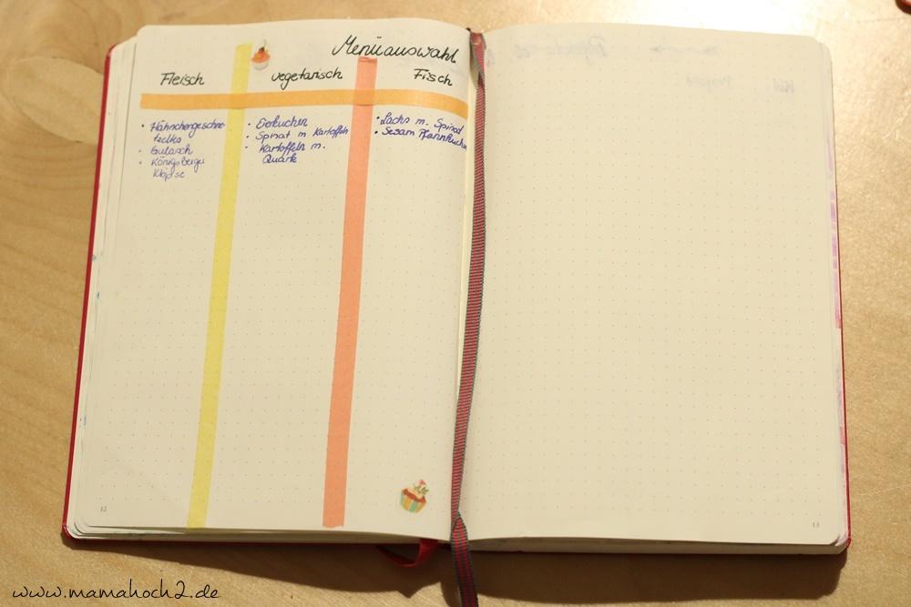 Bullet Journal . Bullet Journal Ideen . Bullet Journal Materialien . Bulett Journal Kalender . Kalender selber machen . kreative Kalender (45)