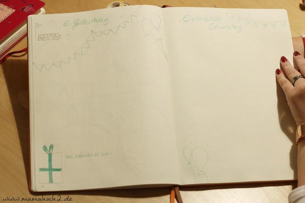Bullet Journal . Bullet Journal Ideen . Bullet Journal Materialien . Bulett Journal Kalender . Kalender selber machen . kreative Kalender (58)