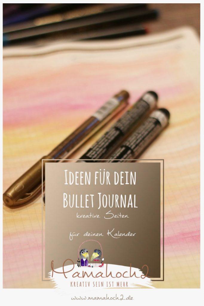 Bullet Journal . Bullet Journal Ideen . Bullet Journal Materialien . Bulett Journal Kalender . Kalender selber machen . kreative Kalender 76