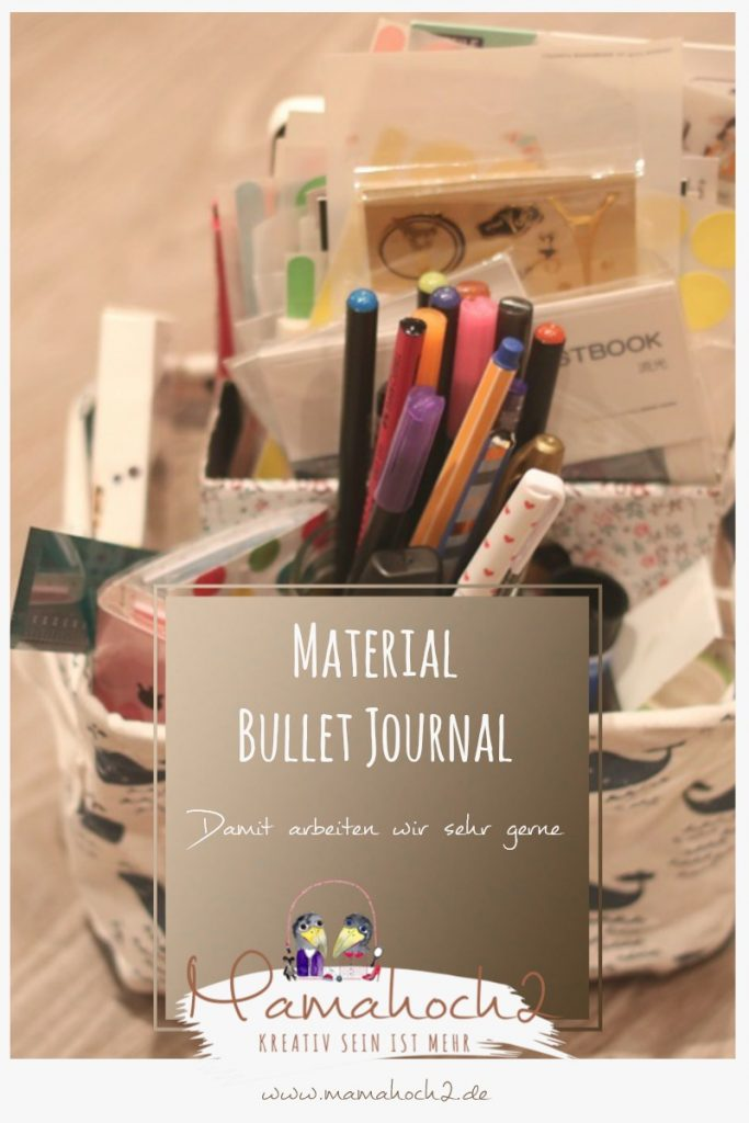 Bullet Journal . Bullet Journal Ideen . Bullet Journal Materialien . Bulett Journal Kalender . Kalender selber machen . kreative Kalender 77