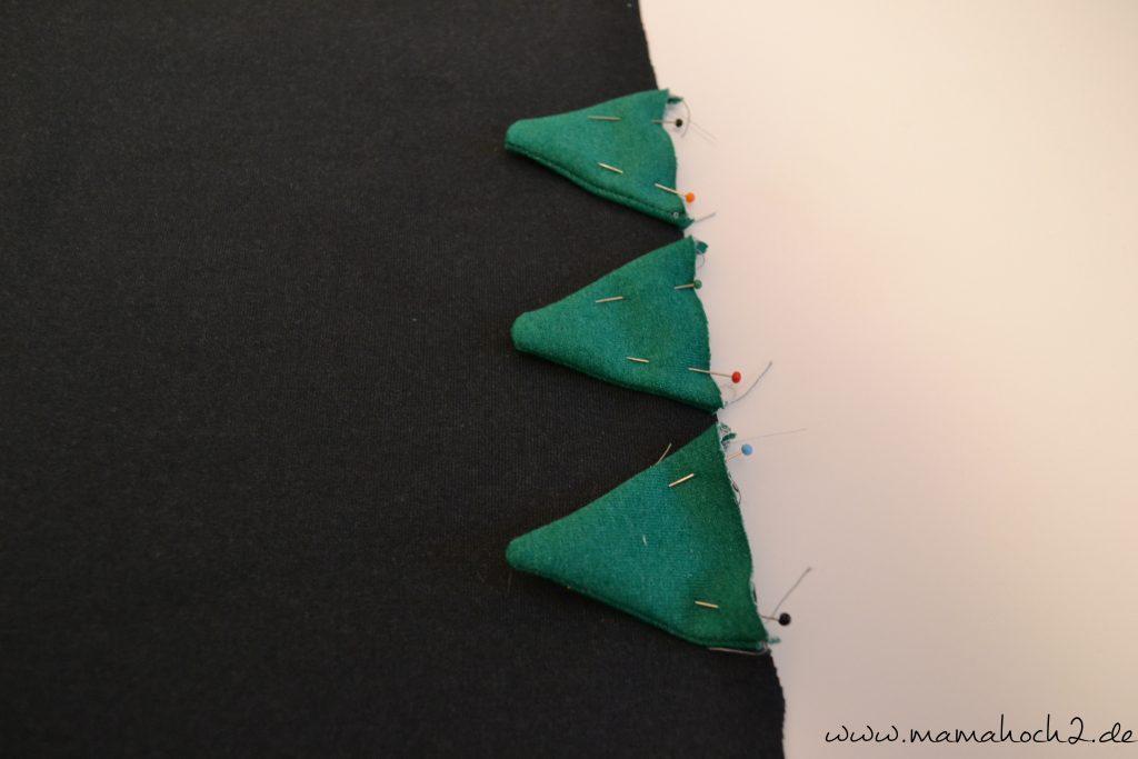 Drachenzacken für die Kapuze . Drachenpullover . Faschingskostüm selber nähen . Drachenkostüm . Drachenkapuze (26)