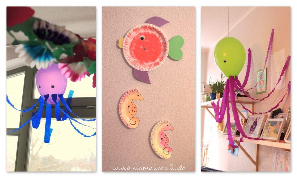 Geburtstag Collage Deko