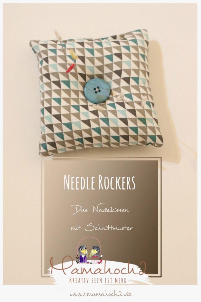 Needle Rockers . Nadelkissen . Schnittmuster . 2
