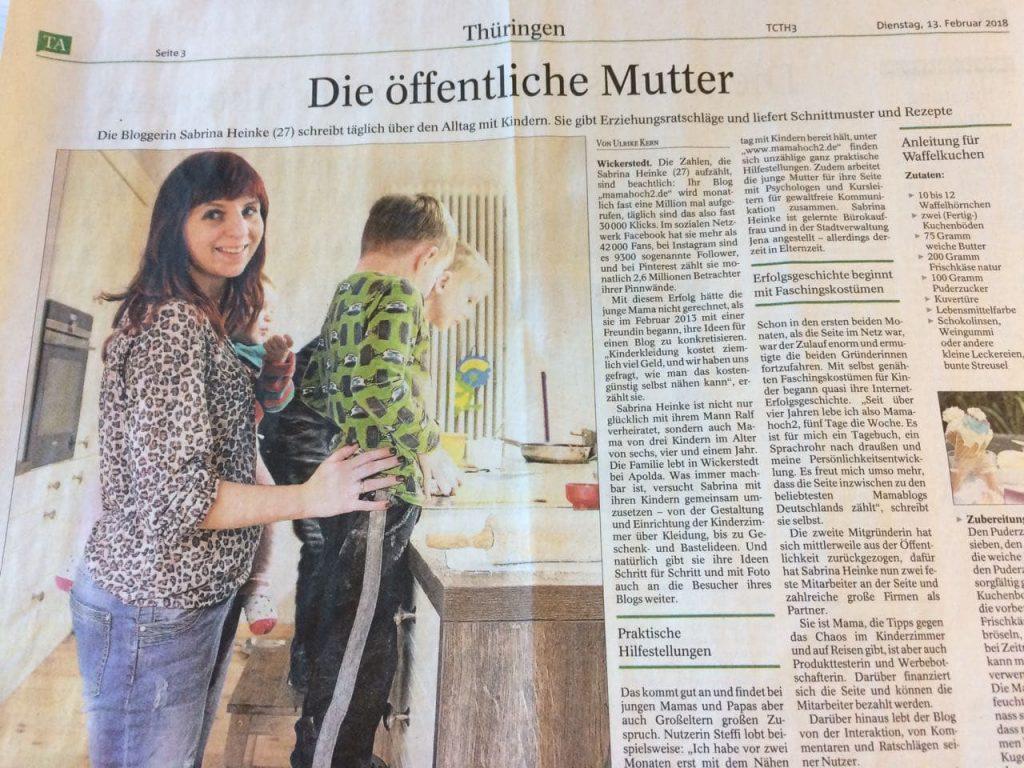 Thüringer Allgemeine 13.02.2013