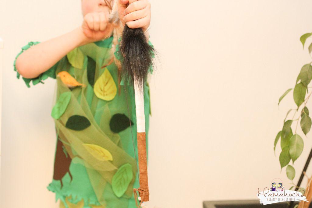 faschin kostüm karneval wald waldelfe waldfee diy tüll blätter filz nähen verkleiden (10)