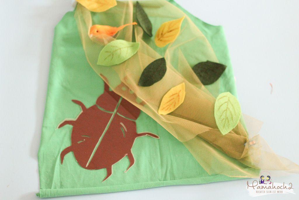 faschin kostüm karneval wald waldelfe waldfee diy tüll blätter filz nähen verkleiden (19)