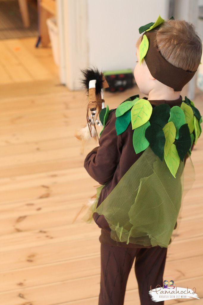 faschin kostüm karneval wald waldelfe waldfee diy tüll blätter filz nähen verkleiden (8)