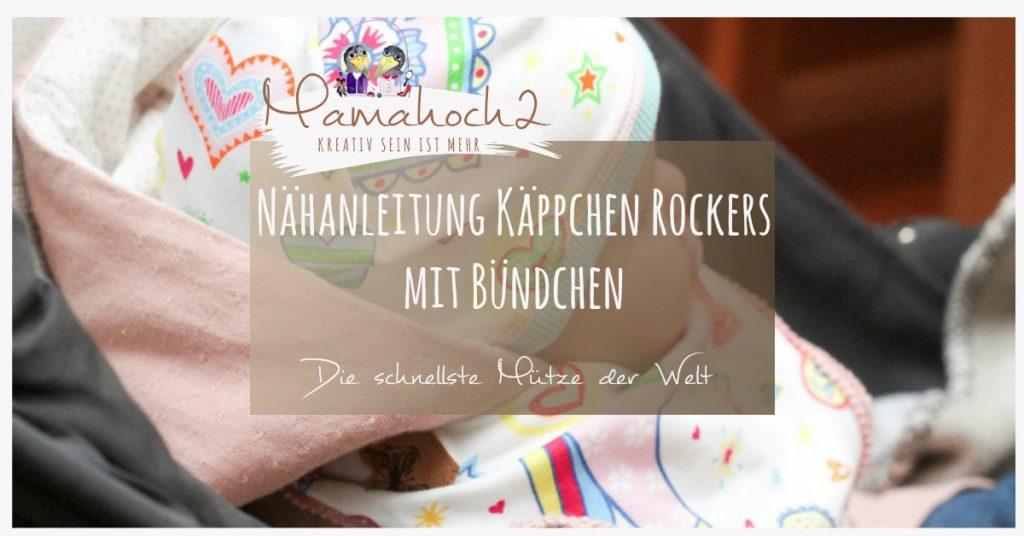 nähanleitung mütze baby babymütze nähen käppchen rockers