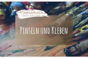 Blog Header Pinseln und kleben Blogfoto