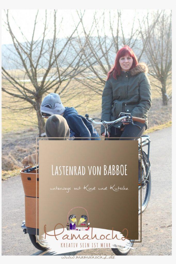 Lastenrad von Babboe