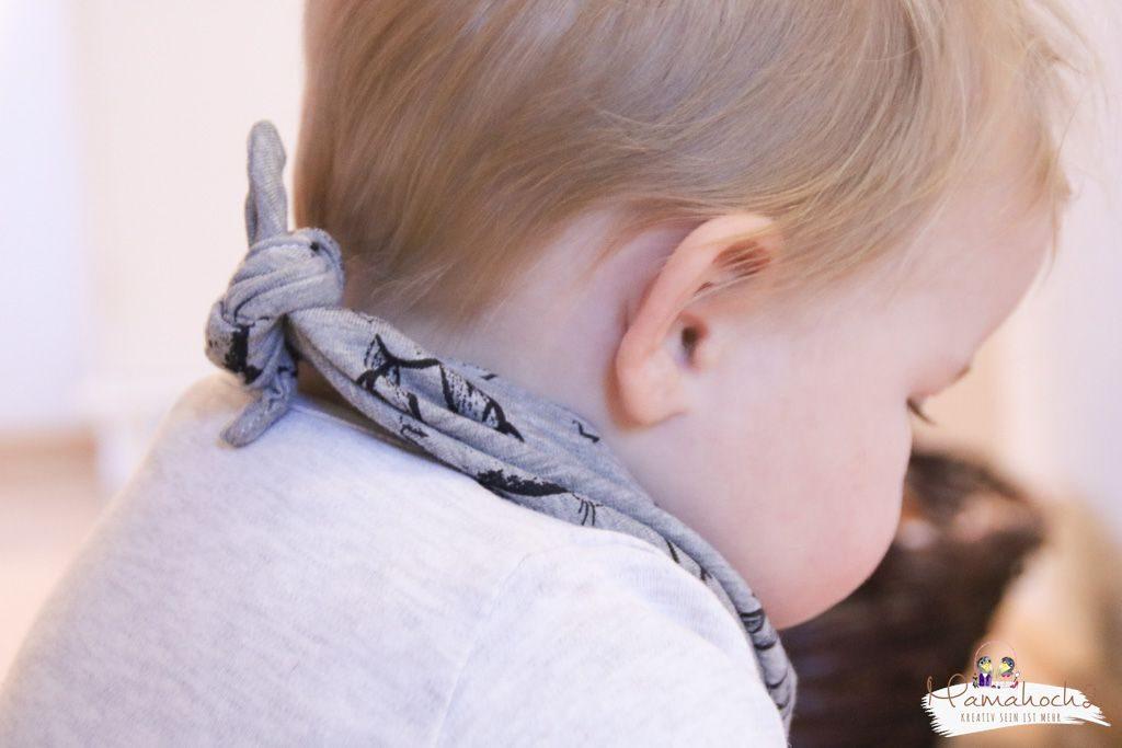 halstuch nähen babylatzen sabbertuch schnittmuster anleitung (3)