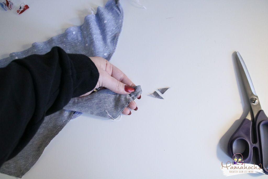 halstuch nähen babylatzen sabbertuch schnittmuster anleitung (6)
