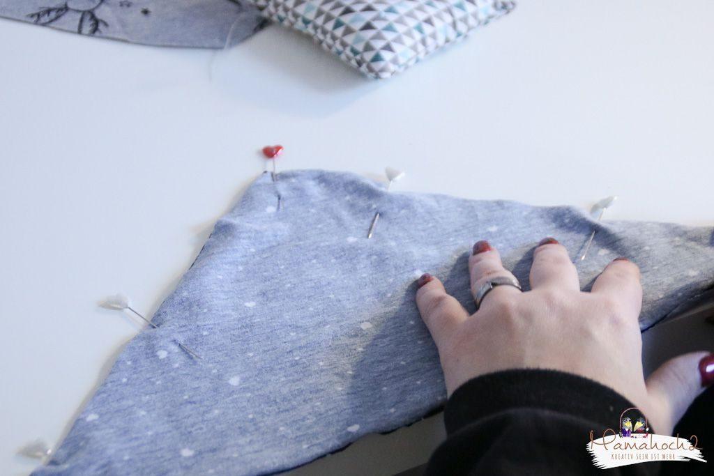 halstuch nähen babylatzen sabbertuch schnittmuster anleitung (9)