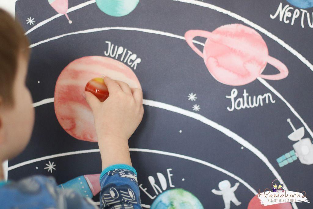 planeten lernen sonnensystem tipps spielideen erde mond sonne neptun lernen fürs leben kinderzimmer ideen für zu hause (1)