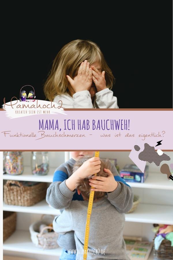Mama, ich hab Bauchweh! Funktionelle Bauchschmerzen – was ist das eigentlich
