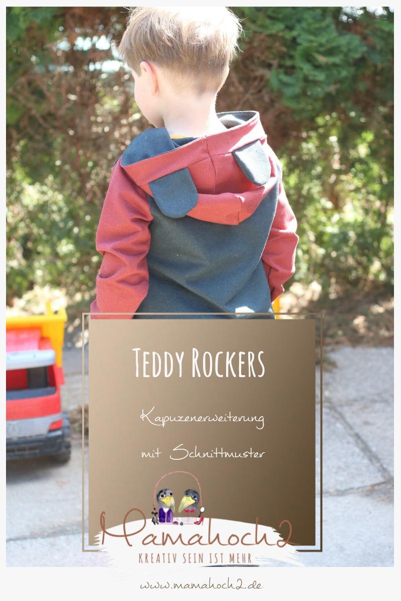 Pinterest – Teddy Rockers – Mamahoch2 – Bärenohren