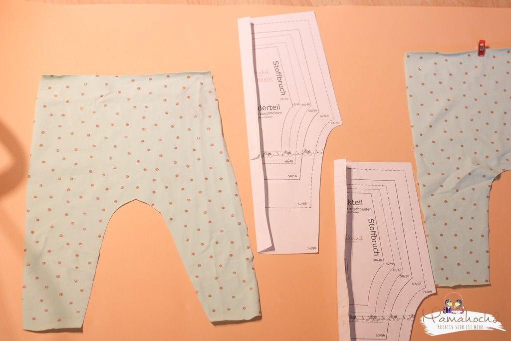 leggings nähen nähanleitung schnittmuster anpassen (7)