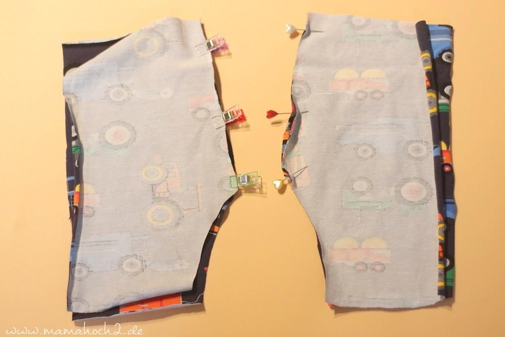 Babyhose einfach nähen . Babypump Rockers mit Knopfleiste . Knopfleiste in eine Babyhose nähen . Nähen für Babys . Pumphose mit Knopfleiste (5)