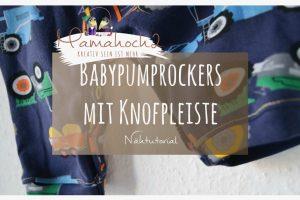 Blog Header Babypump Rockers mit Knopfleiste