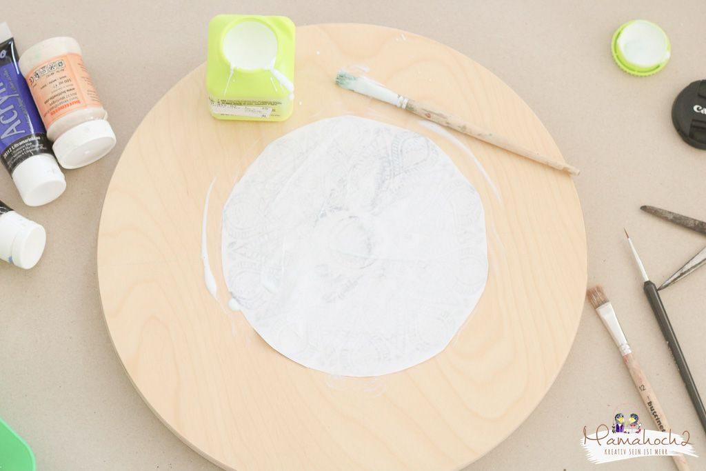 Ikea Frosta hack Möbel umgestalten mit Fototransfer auf Holz (10)