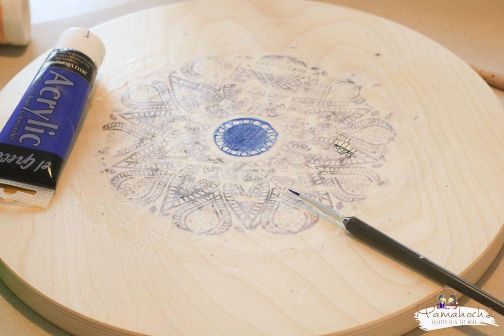 Ikea Frosta hack Möbel umgestalten mit Fototransfer auf Holz (7)