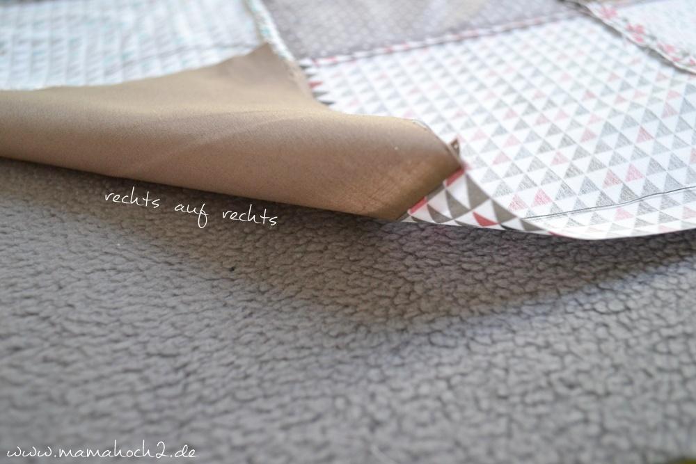 Patchworkdecke für Babys nähen . einfaches und schnelles Nähen . Nähen für babys . Freebook . Nähen mit baumwolle (11)