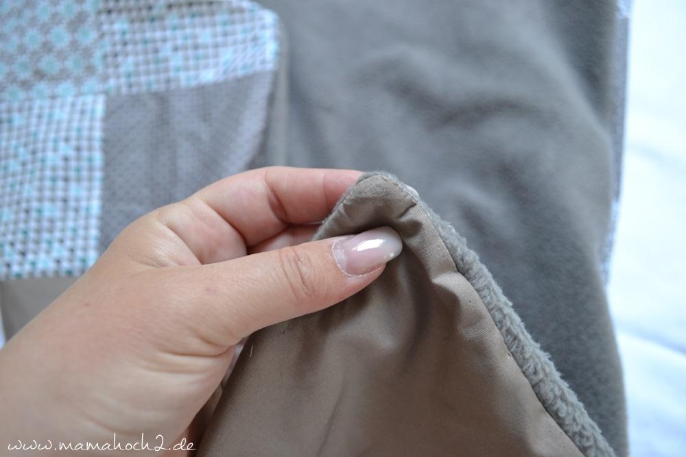 Patchworkdecke für Babys nähen . einfaches und schnelles Nähen . Nähen für babys . Freebook . Nähen mit baumwolle (14)