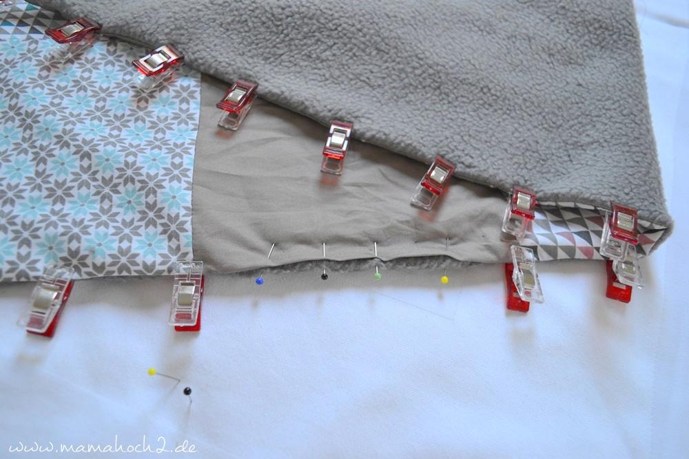 Patchworkdecke für Babys nähen . einfaches und schnelles Nähen . Nähen für babys . Freebook . Nähen mit baumwolle (15)