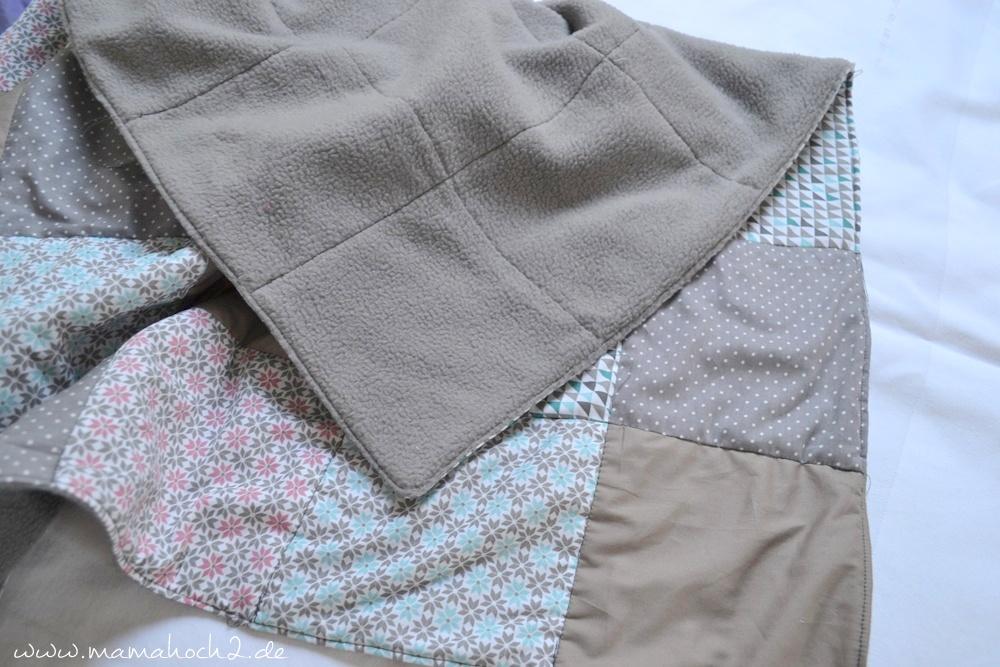 Patchworkdecke für Babys nähen . einfaches und schnelles Nähen . Nähen für babys . Freebook . Nähen mit baumwolle (18)